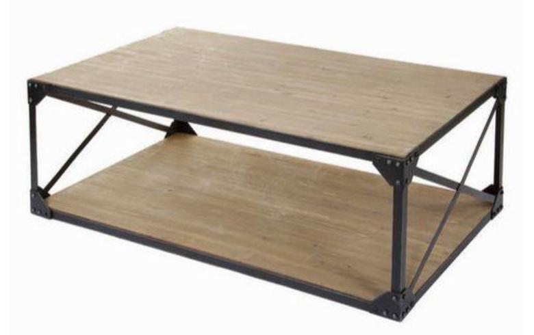 Mesa de Centro Crafts Wood